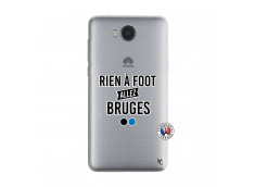 Coque Huawei Y6 2017 Rien A Foot Allez Bruges