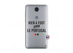 Coque Huawei Y6 2017 Rien A Foot Allez Le Portugal