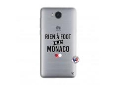 Coque Huawei Y6 2017 Rien A Foot Allez Monaco
