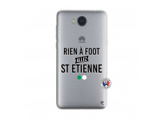 Coque Huawei Y6 2017 Rien A Foot Allez St Etienne