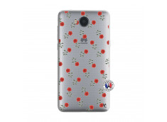 Coque Huawei Y6 2017 Rose Pattern