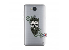 Coque Huawei Y6 2017 Skull Hipster