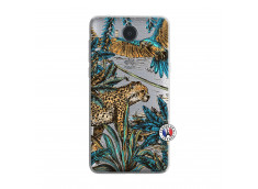 Coque Huawei Y6 2017 Leopard Jungle