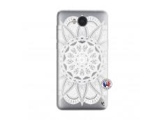 Coque Huawei Y6 2017 White Mandala