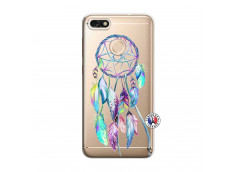 Coque Huawei Y6 2018 Blue Painted Dreamcatcher