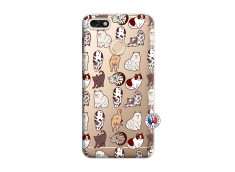 Coque Huawei Y6 2018 Cat Pattern