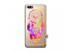 Coque Huawei Y6 2018 Dreamcatcher Rainbow Feathers