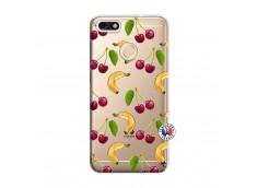 Coque Huawei Y6 2018 Hey Cherry, j'ai la Banane