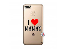 Coque Huawei Y6 2018 I Love Maman
