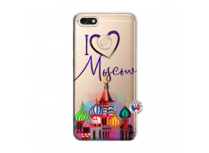 Coque Huawei Y6 2018 I Love Moscow