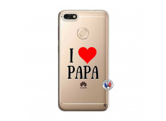 Coque Huawei Y6 2018 I Love Papa
