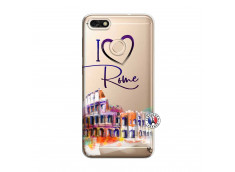 Coque Huawei Y6 2018 I Love Rome