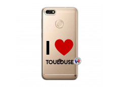 Coque Huawei Y6 2018 I Love Toulouse