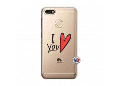 Coque Huawei Y6 2018 I Love You