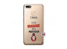 Coque Huawei Y6 2018 J Peux Pas J Ai Un Braquage Avec Le Professeur
