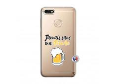 Coque Huawei Y6 2018 Jamais Sans Ma Blonde