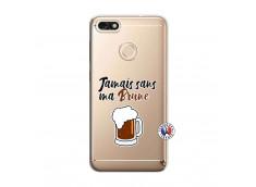 Coque Huawei Y6 2018 Jamais Sans Ma Brune