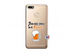 Coque Huawei Y6 2018 Jamais Sans Ma Rousse