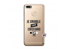 Coque Huawei Y6 2018 Je Dribble Comme Cristiano