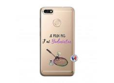 Coque Huawei Y6 2018 Je Peux Pas J Ai Badminton