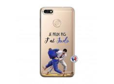 Coque Huawei Y6 2018 Je peux pas j'ai Judo