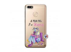 Coque Huawei Y6 2018 Je Peux Pas J Ai Shopping