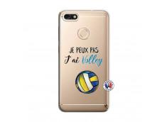 Coque Huawei Y6 2018 Je Peux Pas J Ai Volley