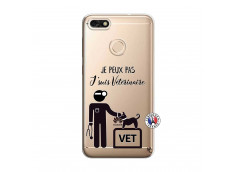 Coque Huawei Y6 2018 Je Peux Pas Je Suis Veterinaire