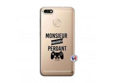 Coque Huawei Y6 2018 Monsieur Mauvais Perdant