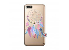 Coque Huawei Y6 2018 Multicolor Watercolor Floral Dreamcatcher