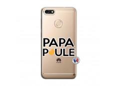 Coque Huawei Y6 2018 Papa Poule