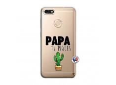 Coque Huawei Y6 2018 Papa Tu Piques
