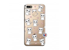 Coque Huawei Y6 2018 Petits Chats