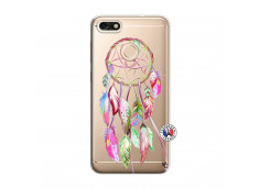 Coque Huawei Y6 2018 Pink Painted Dreamcatcher