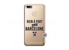 Coque Huawei Y6 2018 Rien A Foot Allez Barcelone