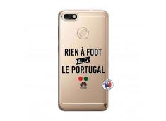 Coque Huawei Y6 2018 Rien A Foot Allez Le Portugal