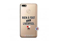 Coque Huawei Y6 2018 Rien A Foot Allez Liverpool