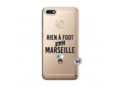 Coque Huawei Y6 2018 Rien A Foot Allez Marseille