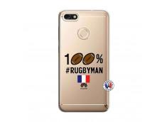 Coque Huawei Y6 2018 100% Rugbyman
