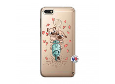 Coque Huawei Y6 2018 Puppies Love