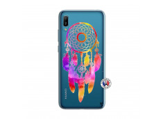 Coque Huawei Y6 2019 Dreamcatcher Rainbow Feathers