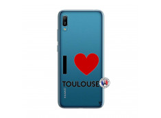 Coque Huawei Y6 2019 I Love Toulouse