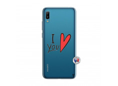 Coque Huawei Y6 2019 I Love You