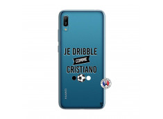 Coque Huawei Y6 2019 Je Dribble Comme Cristiano