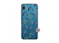 Coque Huawei Y6 2019 Dauphins