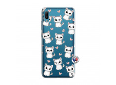 Coque Huawei Y6 2019 Petits Chats