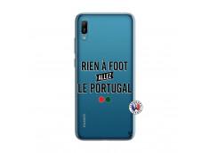 Coque Huawei Y6 2019 Rien A Foot Allez Le Portugal