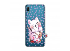 Coque Huawei Y6 2019 Smoothie Cat