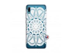 Coque Huawei Y6 2019 White Mandala