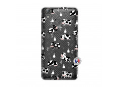 Coque Huawei Y6 2 Cow Pattern
